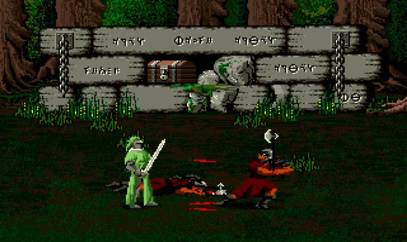 Moonstone A Hard Days Knight - Sir Jeffrey fights Troggs